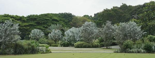 HortPark garden Singapour overview