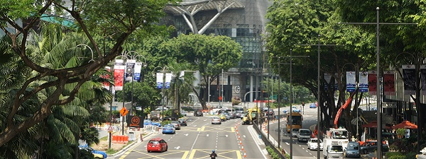 Scott Road à Singapour