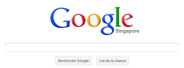 Google Singapour
