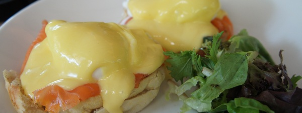 Eggs Royale du Brunch à Canopy (Bishan Park)
