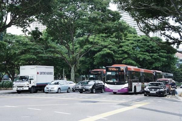 Les voitures à Singapour