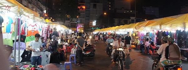 Banh Thanh Market la nuit