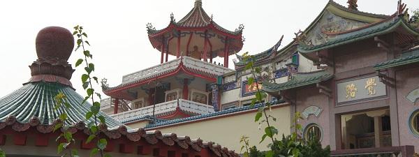 Temple Chinois à Penang en Malaisie