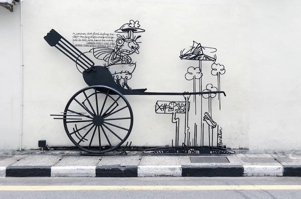 Penang George Town street art