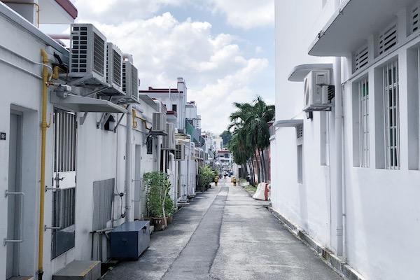 Dans les ruelles de Tiong Bahru