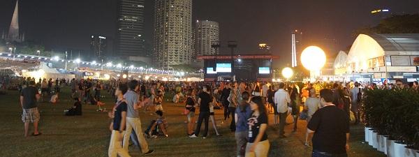 Grand prix de F1 de Singapour - Esplanade
