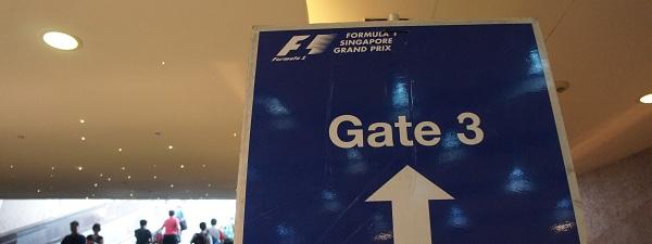 Grand prix de F1 de Singapour - Porte 3