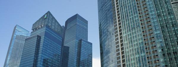 Immeubles de bureau à Singapour