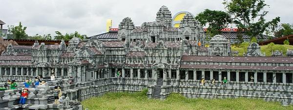 Angkor-vat (Siem Reap) en Lego