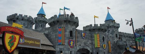 Chateau à Legoland Malaisie