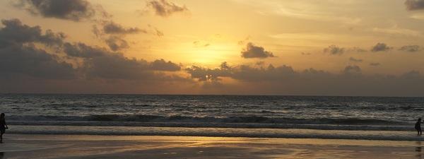 Coucher de soleil à Phuket, Thaïlande