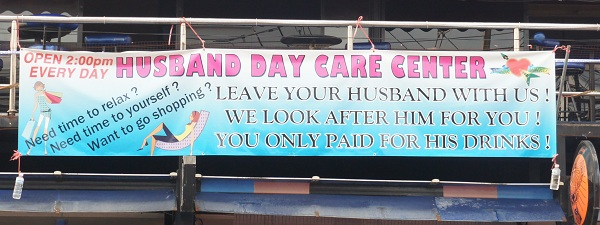 Husband Day Care Center à Phuket, tout un programme