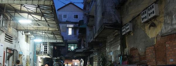 Pas loin du Central Market de Phnom Penh
