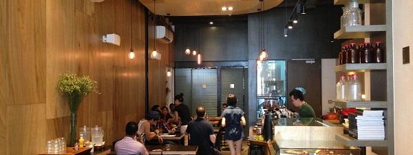 Inside Department of Caffeine (Tanjong Pagar)