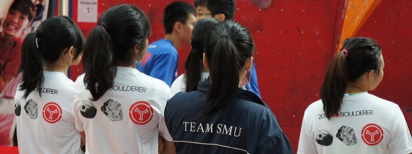 Team SMU at Boulderactive 2013