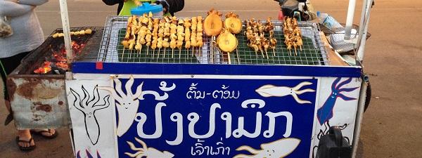 Le poulpe, c'est la vie (Vientiane, Laos)