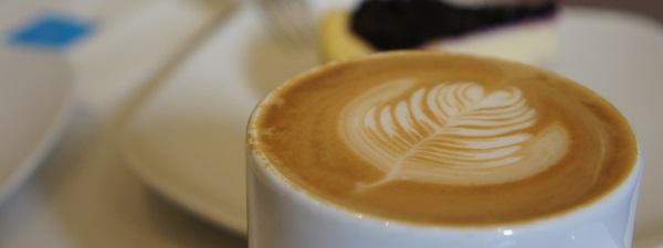 Cafe Latte à Ginger Bakery à Hong-Kong