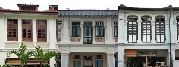 Shop houses à Joo Chiat (Singapour)