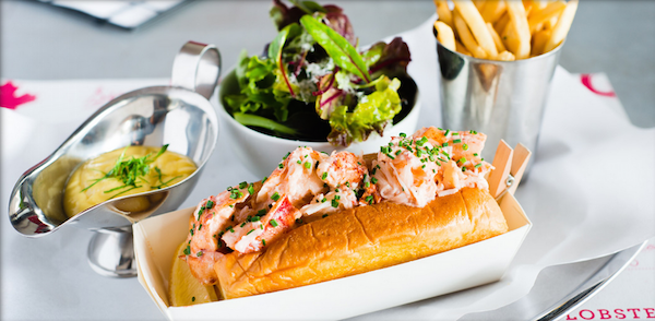 Lobster Roll à Pince & Pints - Copyright Pince & Pints