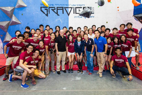 SMU Climb Team at Gravical 2015