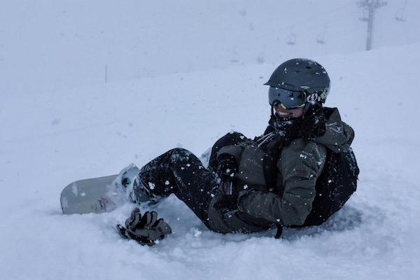 Snowboarding Niseko