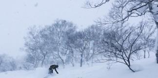 Faire du snowboard à Niseko