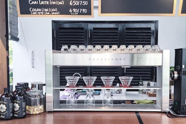 Machine cafe DW Workshop