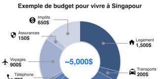 Budget Singapour