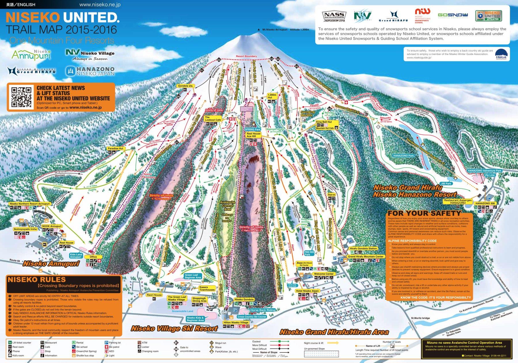 Domaine skiable Niseko