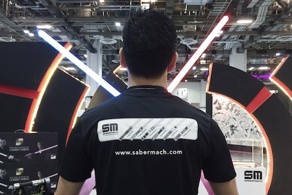 Combat de sabre laser et cours de sabre