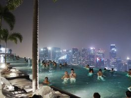Marina Bay Sands Et Son Infinity Pool A Singapour