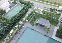 Piscine condo Singapour