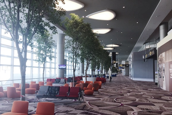 Embarquement T4 Changi