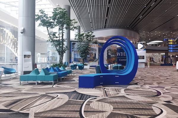 Nouveau design pour le terminal 4