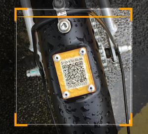 QR code a scanner