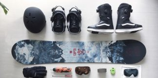 Snowboard gear for Niseko