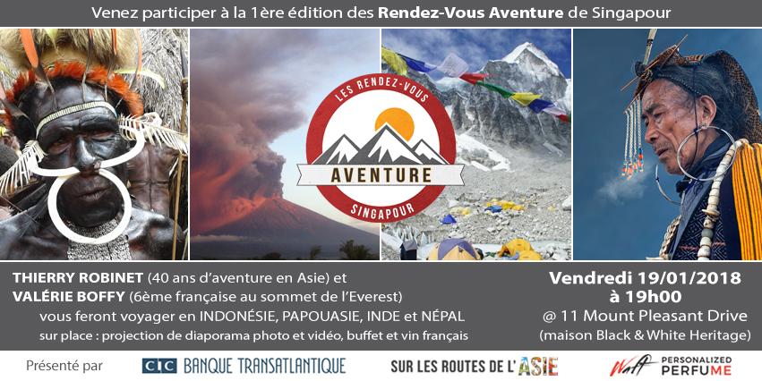 Les Rendez-Vous Aventure | Thierry Robinet & Valérie Boffy