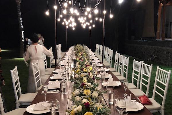 Mariage Bali dans Villa