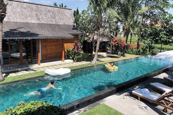 Piscine Villa Bali Seminyak