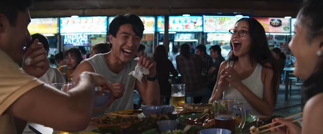 Crazy Rich Asians - Food Court