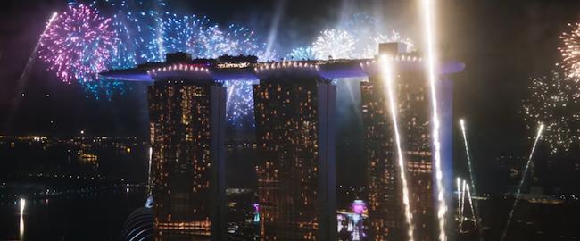 Crazy Rich Asians - Marina Bay Sands