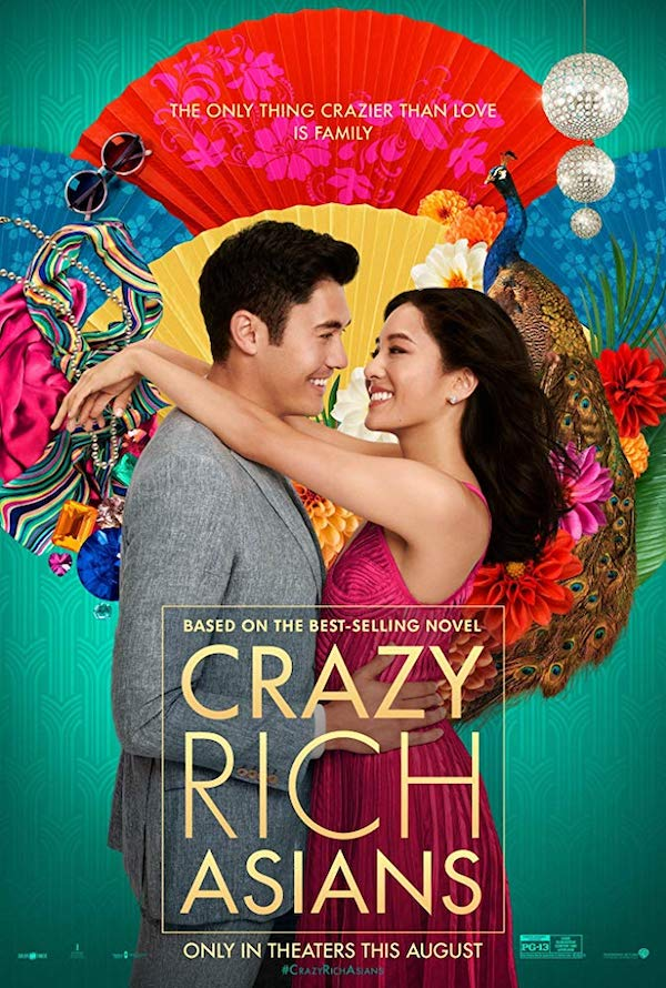 crazy rich asians affiche film