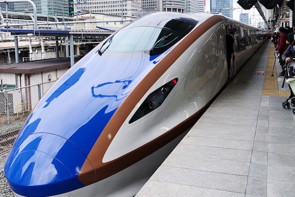 Shinkansen madarao
