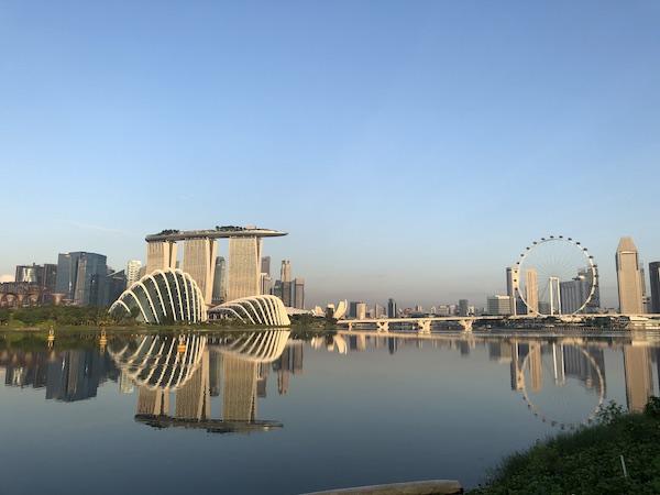 Ville de Singapour en Asie